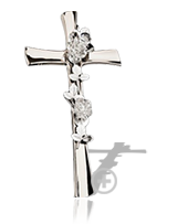 Steel Crucifix for gravestones