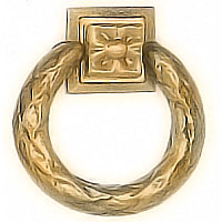 Big-ring Corona In bronze, 1308