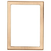 Rectangular photo frame 10x15cm - 4x6in In bronze, wall attached 213-1015