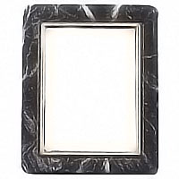 Rectangular photo frame, in various size In Schwarz bronze, wall attached 230225