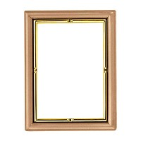 Rectangular photo frame 11x15cm - 4,3x6in In bronze, wall attached 264-1115