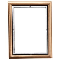 Rectangular photo frame 9x12cm - 3,5x4,75in In bronze, wall attached 277-912