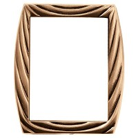 Rectangular photo frame 13x18cm - 5x7in In bronze, wall attached 307-1318