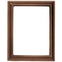 Rectangular photo frame 10x15cm - 4x6in In bronze, wall attached 347-1015
