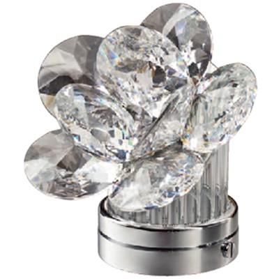 del en decoración y desierto cristal Lámpara o inclinada para 11cm LED Rosa lámparas lápidas 80vmnNwO