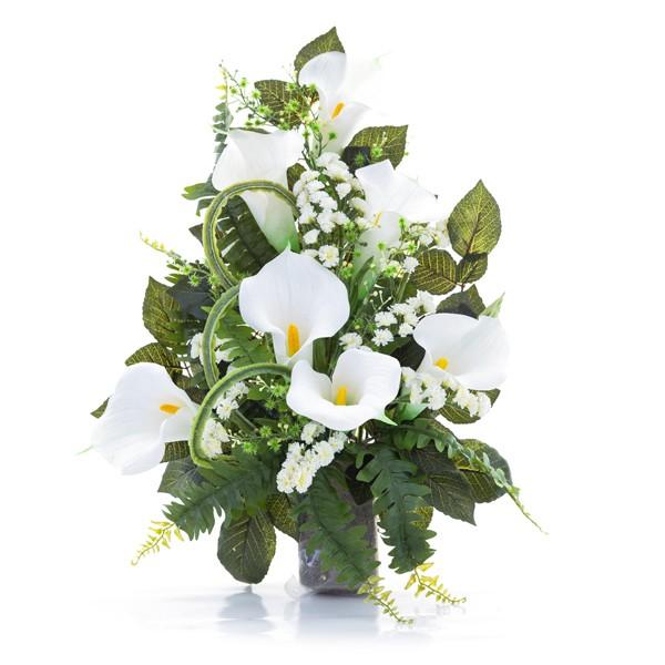 Composizioni floreali per loculi dg45 regardsdefemmes for Disegni del mazzo del cortile