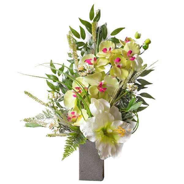 Composizioni Fiori Finti Orchidee Yt82 Regardsdefemmes