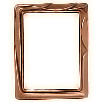 Rectangular photo frame 9x12cm - 3,5x4,75in In bronze, wall attached 1121