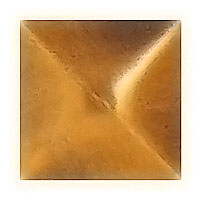 Stud 2x2cm - 0,7x0,7in In bronze, with threaded pin steel 1332