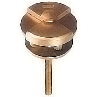 Stud 6cm - 0,82in In bronze, with threaded pin steel 1719