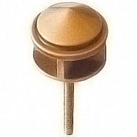 Stud 5,5cm - 2,1in In bronze, with threaded pin steel 50362