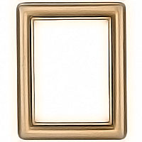 Rectangular photo frame 9x12cm - 3,5x4,75in In bronze, wall attached 1228