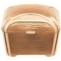 Stoup 9x9cm - 3,5x3,5in In bronze, ground attached 2529