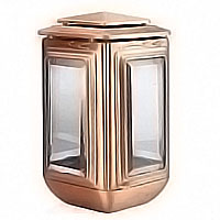 Lamp for candle 26cm - 10,2in In bronze, ground attached 2208