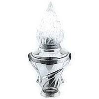 Grave light Esedra 22x9cm-8,6x3,5in In stainless steel, ground or wall mount